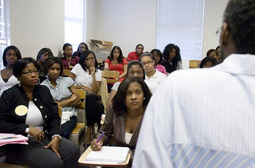 Lisa D'Oyen's Psychology Class at Spelman College